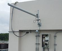 広大な大学キャンパス内のカメラシステムを無線LANで構築3