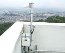 広大な大学キャンパス内のカメラシステムを無線LANで構築4