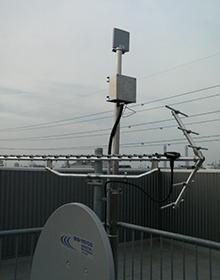 港湾監視カメラを1キロ離れた事務所で無線監視3