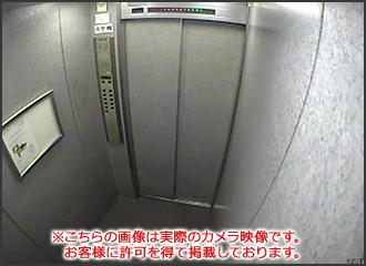 マンションのエレベーター防犯カメラを増設2